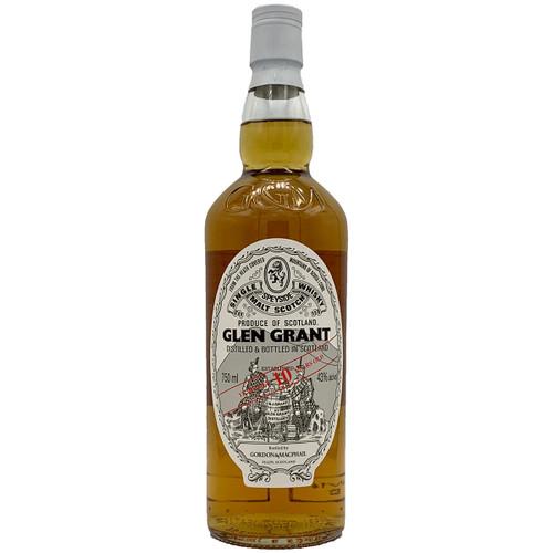 Gordon & Macphail Glen Grant 10 Year Scotch Whisky