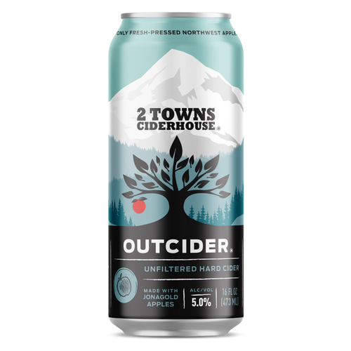 2 Towns Outcider Can 16OZ