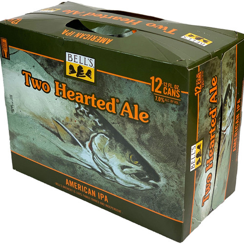 Bell's Two Hearted Ale American IPA 12-Pack Can