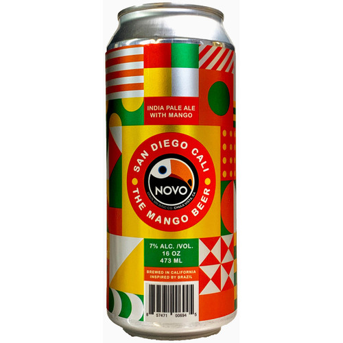 Novo Brazil The Mango Beer IPA Can