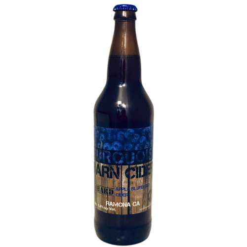 Turquoise Barn Apple Blueberry Hard Cider