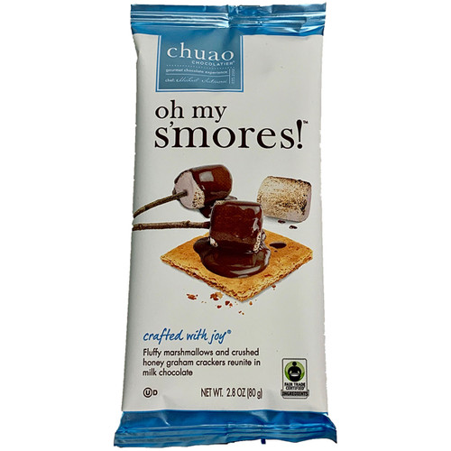 Chuao Oh My S'Mores Chocolate Bar 2.8OZ