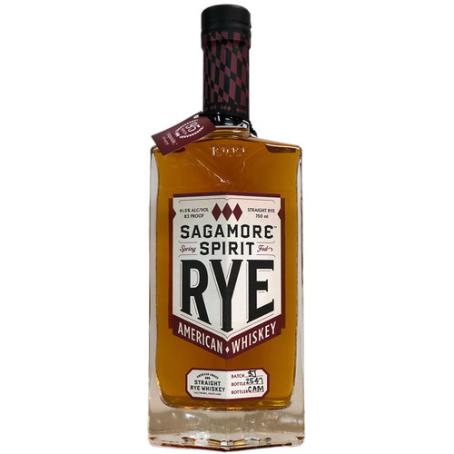 Sagamore Spirit Signature Rye Whiskey 83 Proof