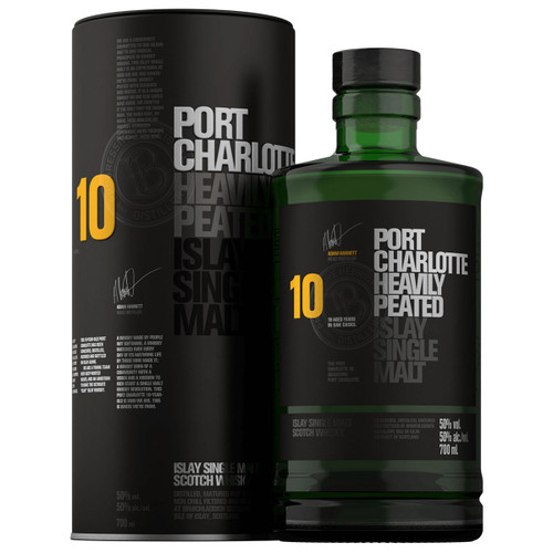 Port Charlotte 10 Year Heavily Peated Scotch Whisky