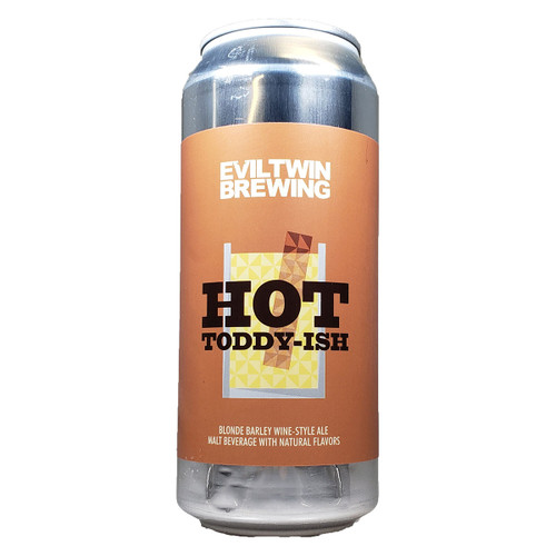 Evil Twin Hot Toddy-Ish Blonde Barleywine Style Ale Can