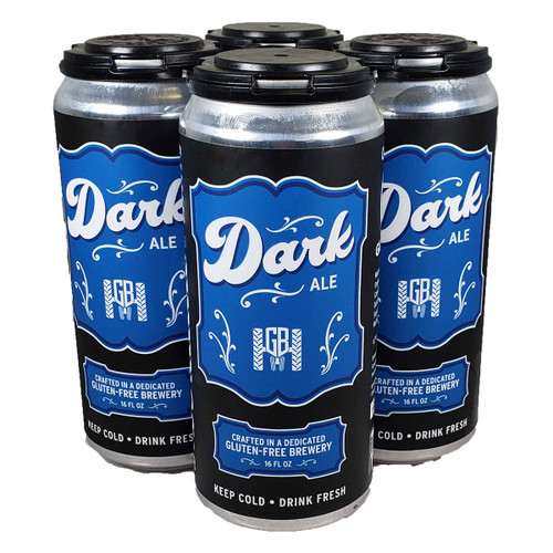 Ground Breaker Gluten Free Dark Ale 4-Pack Can