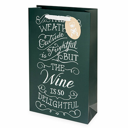 Wine Weather Holiday Gift Bag