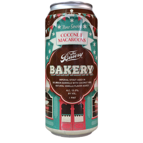 The Bruery Bakery Coconut Macaroons Bourbon Barrel Aged Imperial Stout Can, 16oz