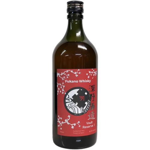 Fukano Vault Reserve 1 Whisky