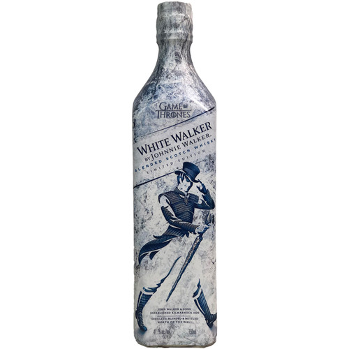 Johnnie Walker 'White Walker' Game Of Thrones Label Blended Scotch Whisky