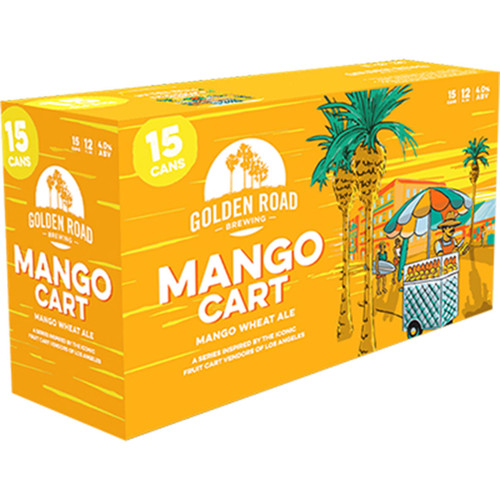 Golden Road Mango Cart Wheat Ale 15-Pack Can