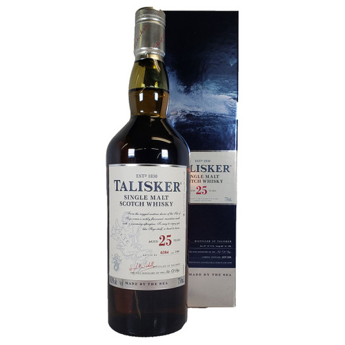Talisker 25 Year Old Scotch Whisky