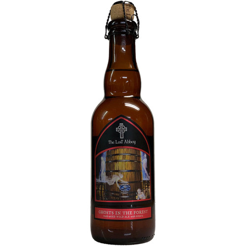 Lost Abbey Ghosts In The Forest Oak Aged Wild Ale With Guava