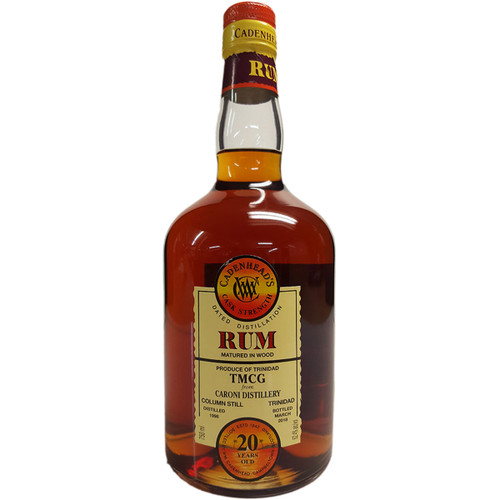 Cadenhead's 1998 20 Year Cask Strength Rum