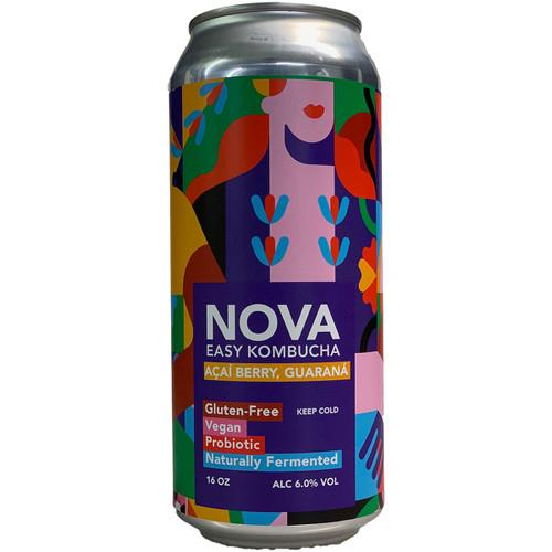 Nova Acia Berry Guarana Easy Kombucha Can
