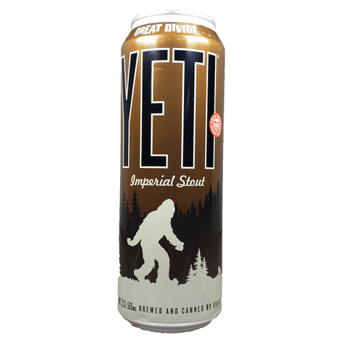 Great Divide Yeti Imperial Stout Tall Can