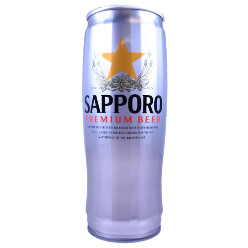 Sapporo Premium Beer Can