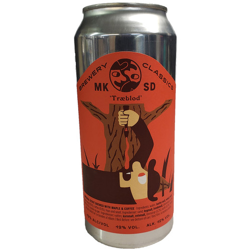 Mikkeller SD Traeblod Imperial Stout Can
