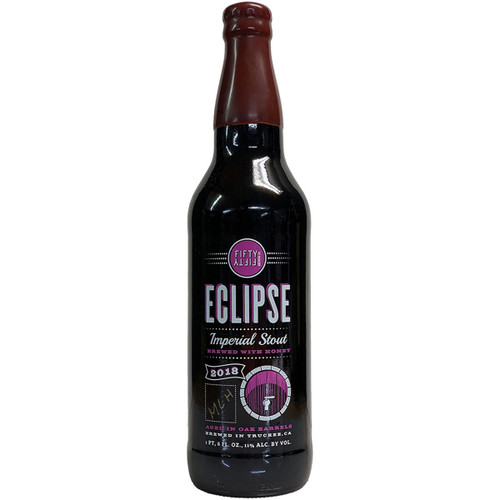 Fifty Fifty Eclipse Barrel Aged Imperial Stout 2018 - Mocha