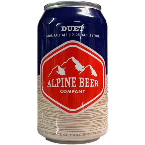Alpine Duet India Pale Ale Can