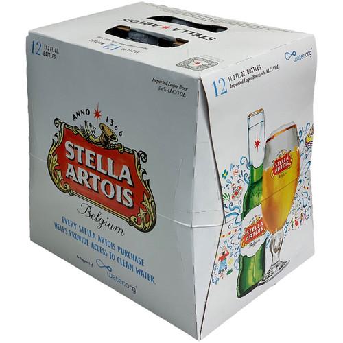 Stella Artois Belgian Lager 12-Pack