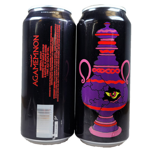Omnipollo Agamemnon Maple Syrup Imperial Stout Can