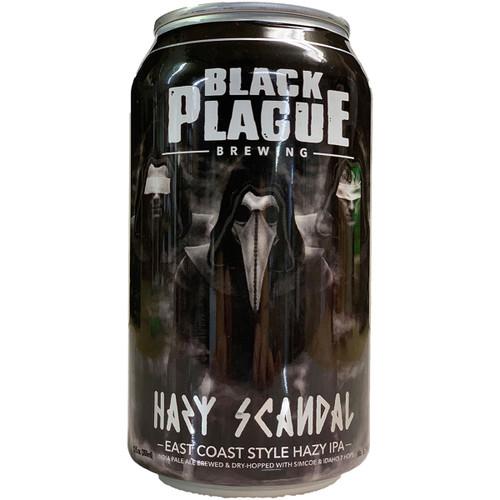 Black Plague Hazy Scandal East Coast Style Hazy IPA Can