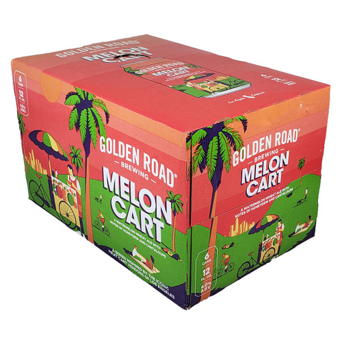 Golden Road Melon Cart Watermelon Wheat Ale 6-Pack Can
