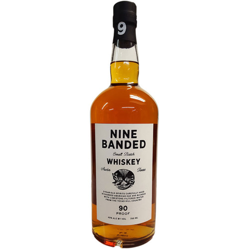 Nine Banded Small Batch Whiskey