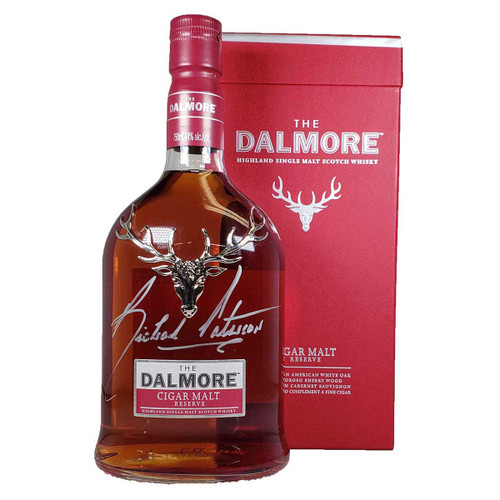The Dalmore Cigar Malt Reserve Highland Single Malt Scotch - Autographed Bottle