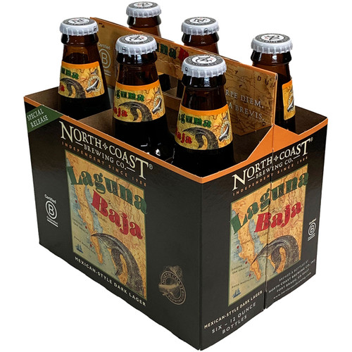 North Coast Laguna Baja Mexican-Style Dark Lager 6-Pack