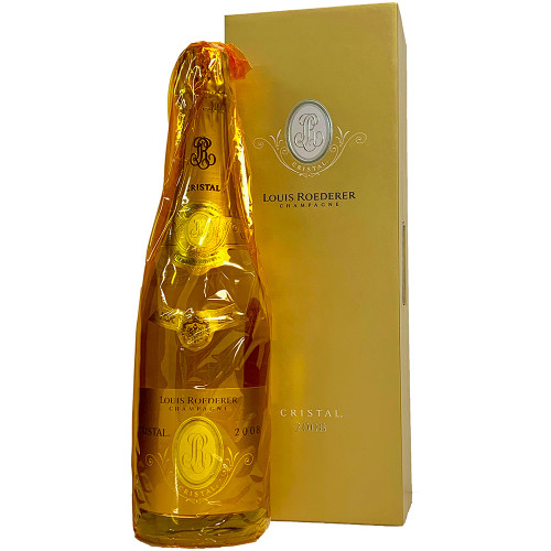 Louis Roederer 2008 Cristal Brut w/ Gift Box | 98+ POINTS