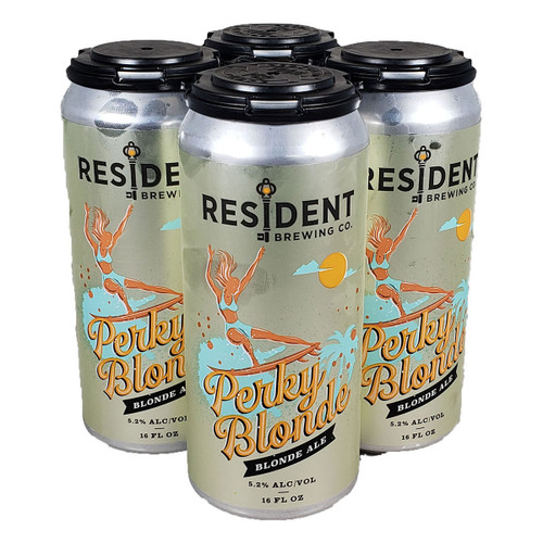 Resident Perky Blonde Blonde Ale 4-Pack Can