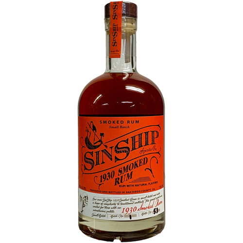 SinShip Spirits 1930 Smoked Rum