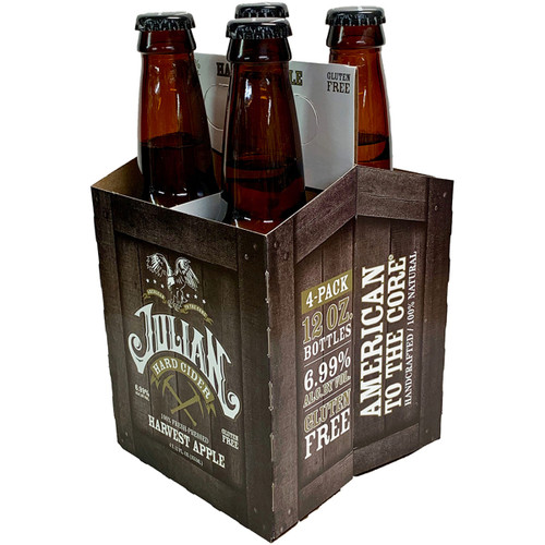 Julian Hard Cider Harvest Apple 4-Pack