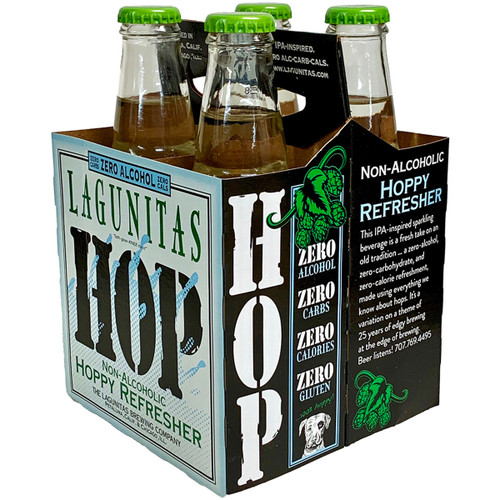Lagunitas Hop Non-Alcoholic Hoppy Refresher 4-Pack