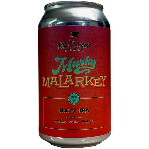 Rip Current Murky Malarkey Hazy IPA Can