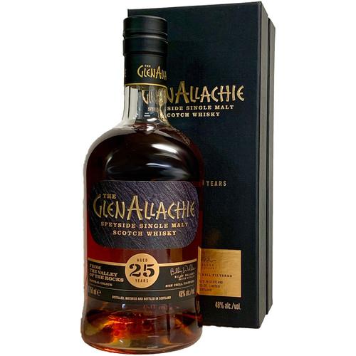 GlenAllachie 25 Year Single Malt Sherry Finish Scotch Whisky