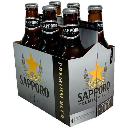 Sapporo Premium Beer 6-Pack