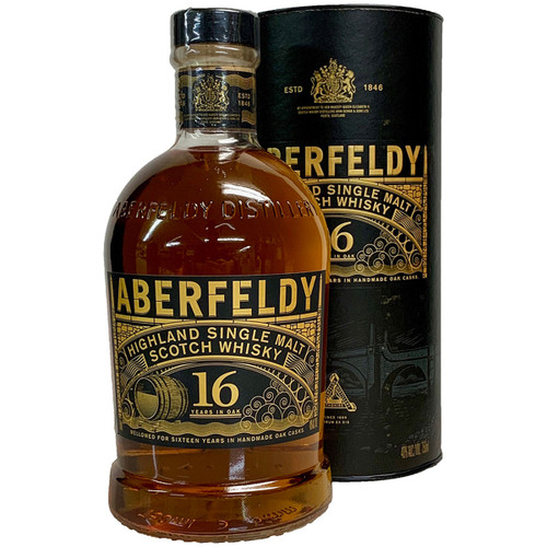 Aberfeldy 16 Year Old Single Malt Scotch Whiskey