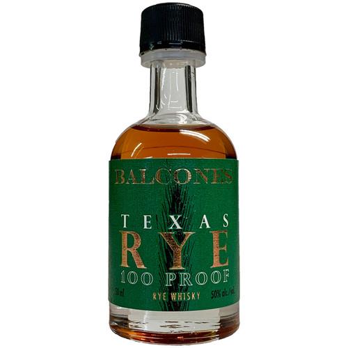 Balcones Texas Rye 100 Proof Whisky 50ML