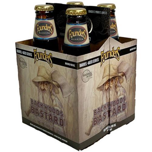 Founders Backwoods Bastard Barrel Aged Scotch Ale 4-Pack