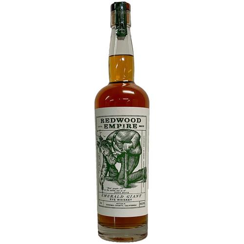 Redwood Empire Emerald Giant American Rye Whiskey