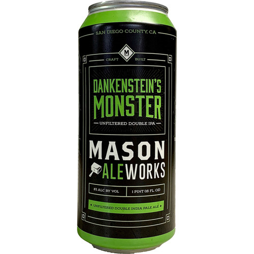 Mason Ale Works Dankenstein's Monster Unfiltered Double IPA Can
