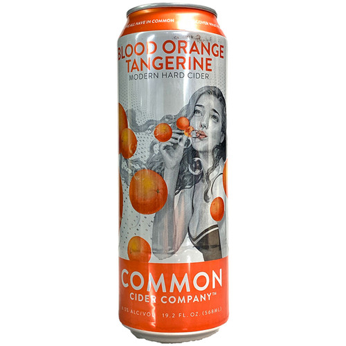 Common Cider Blood Orange Tangerine Hard Cider Can