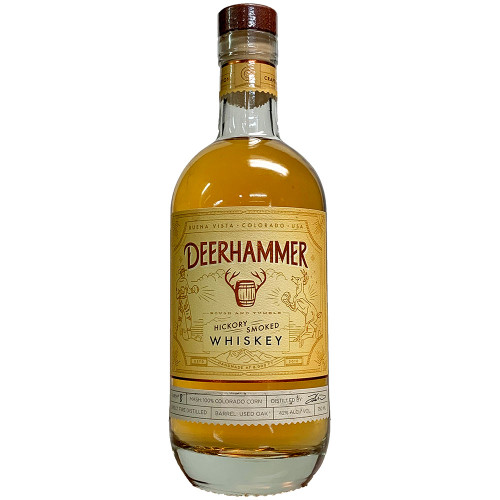 Deerhammer Rough and Tumble Hickory Smoked Corn Whiskey