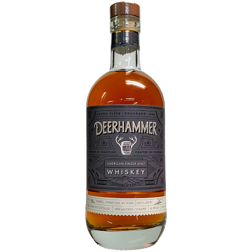 Deerhammer Colorado Single Malt Whiskey