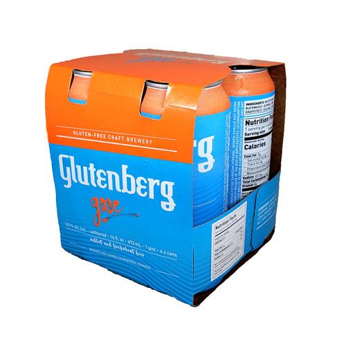 Glutenberg Gluten Free Gose 4-Pack Can