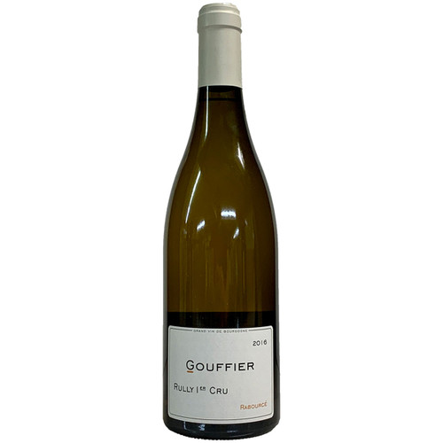 Domaine Gouffier 2016 Rabource Rully 1er Blanc
