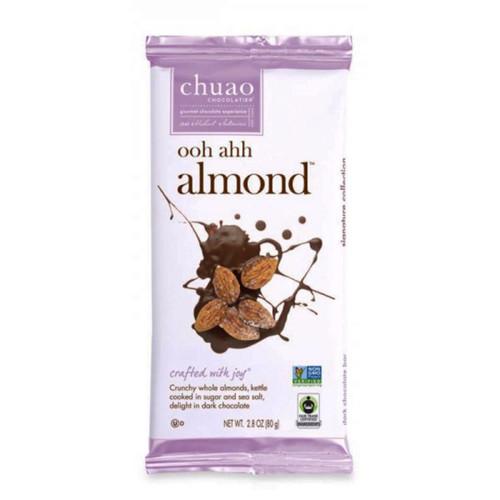 Chuao Ooh Ahh Almond Chocolate Bar